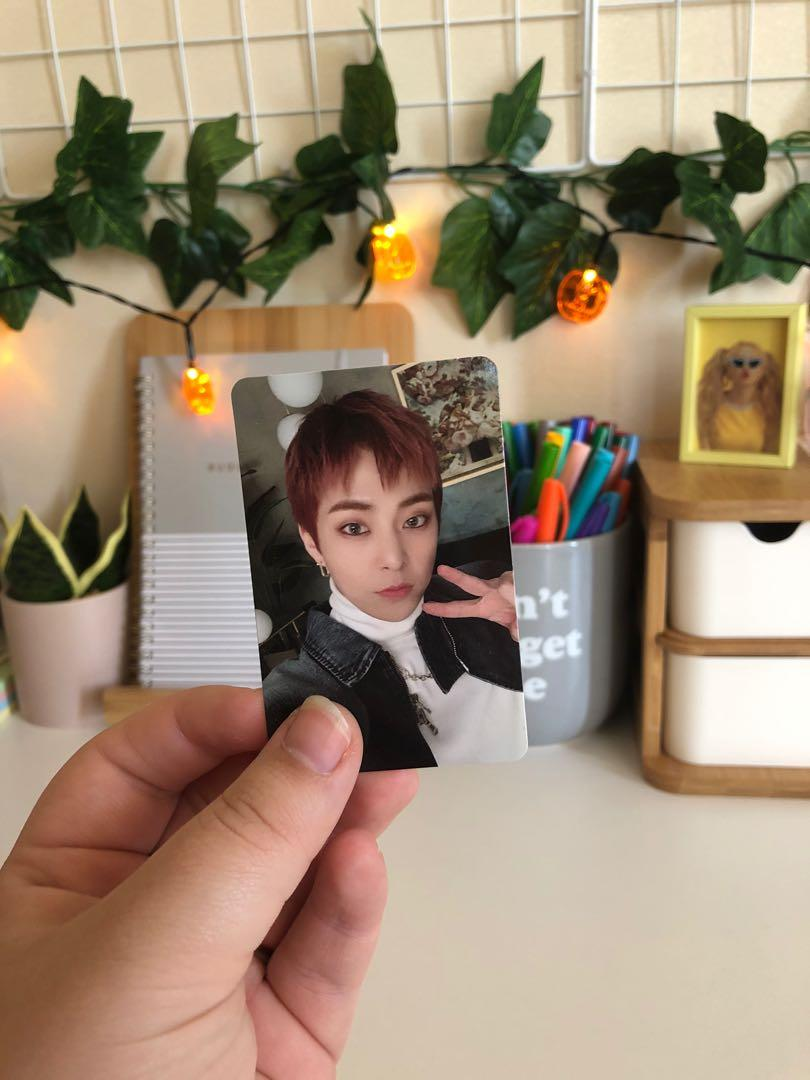 EXO XIUMIN DON'T MESS UP MY TEMPO VIVACE VERSION PHOTOCARD