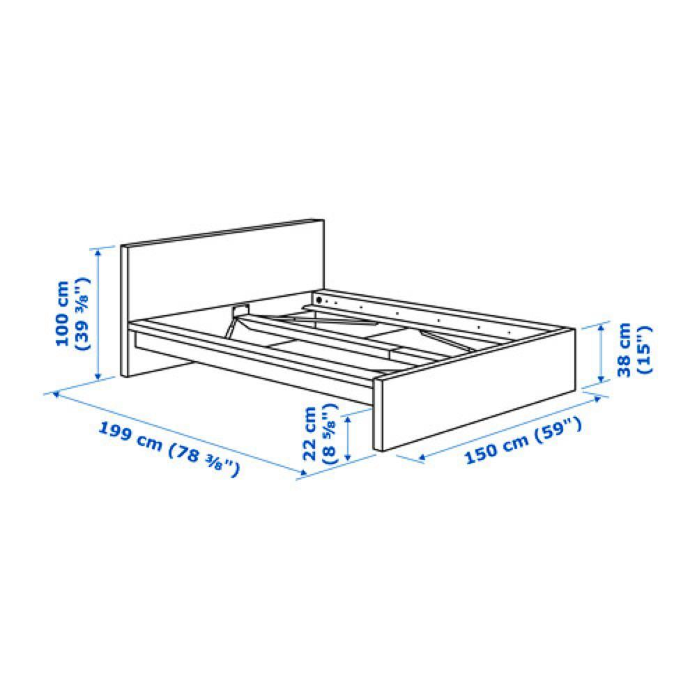 Fire Sale🔥 Bed frame and mattress, $250 only!