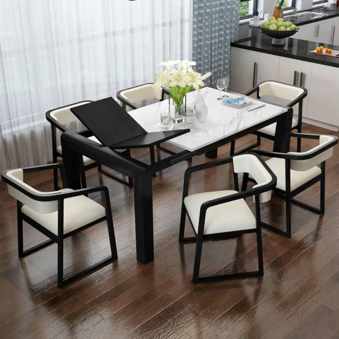 Frank Extendable Dining Table