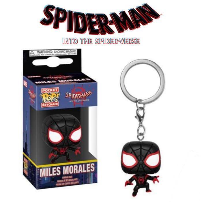 Funko Pocket Pop! Keychain - Spiderman into the spider verse - Miles Morales