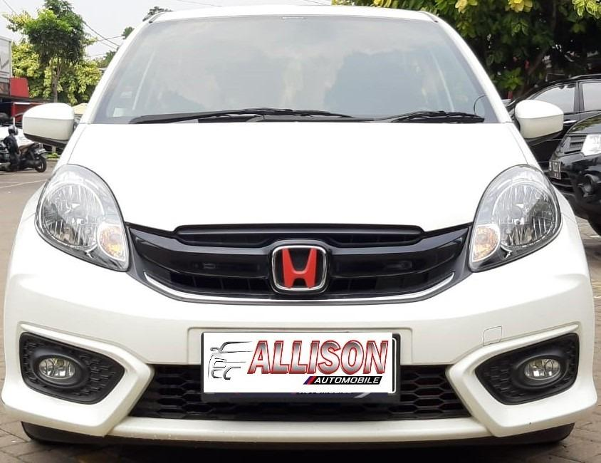 Honda Brio E 1.2 AT 2018 Putih Dp 18,9 Jt No Pol Genap, Km 12 Rb