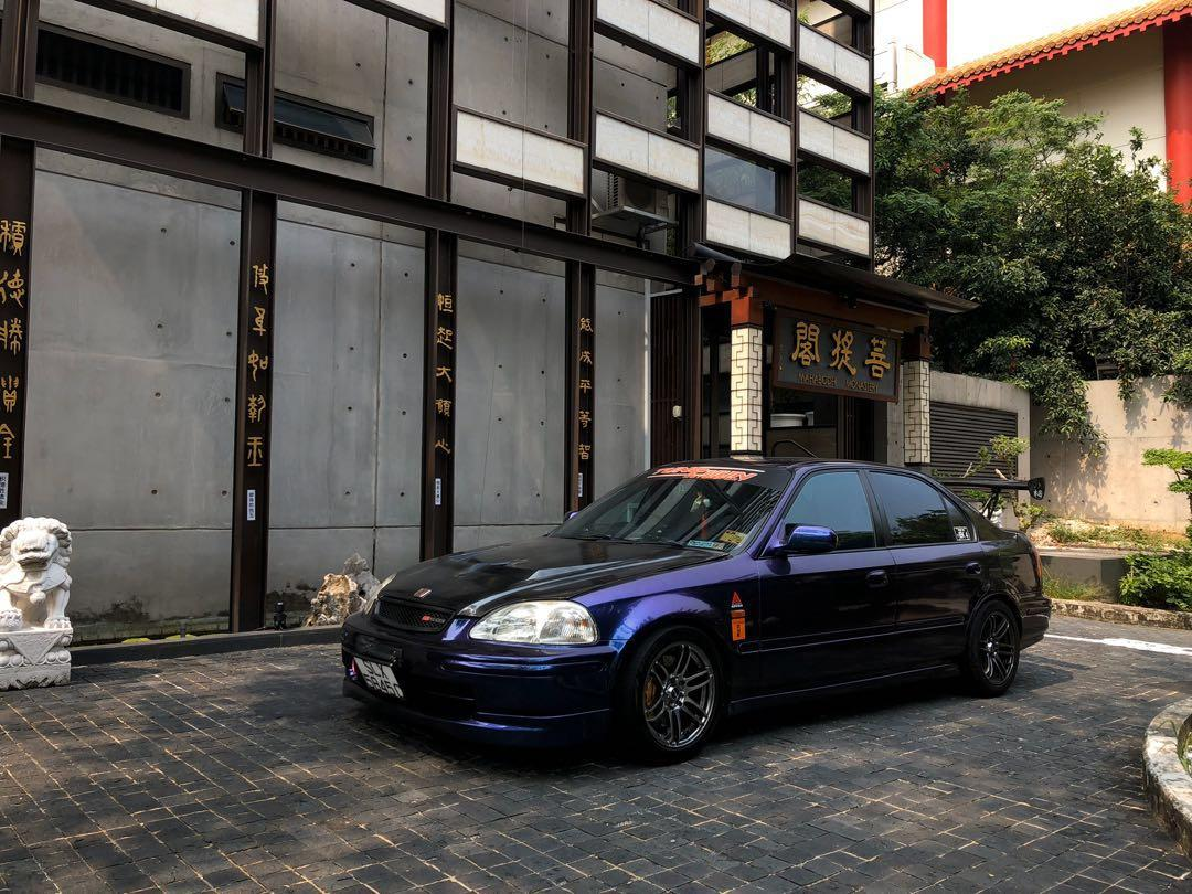 Honda Civic SiR EK4 Manual