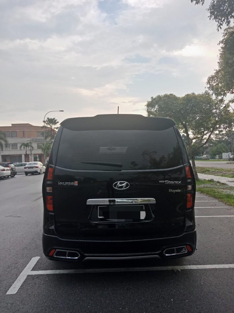 Hyundai Grand Starex Royale Robot 2.5 (A) Kereta Sewa Selangor KL MPV