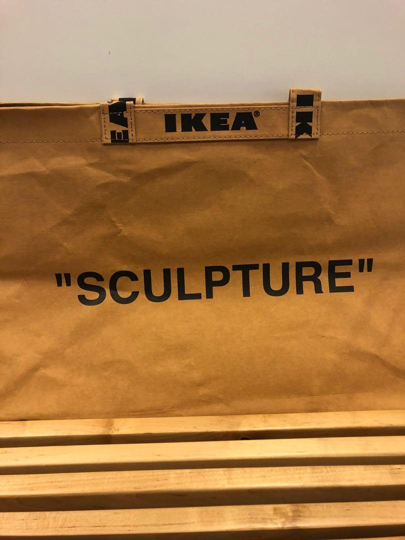 "IKEA x Virgil Abloh ""Sculpture"" Tote Bag"