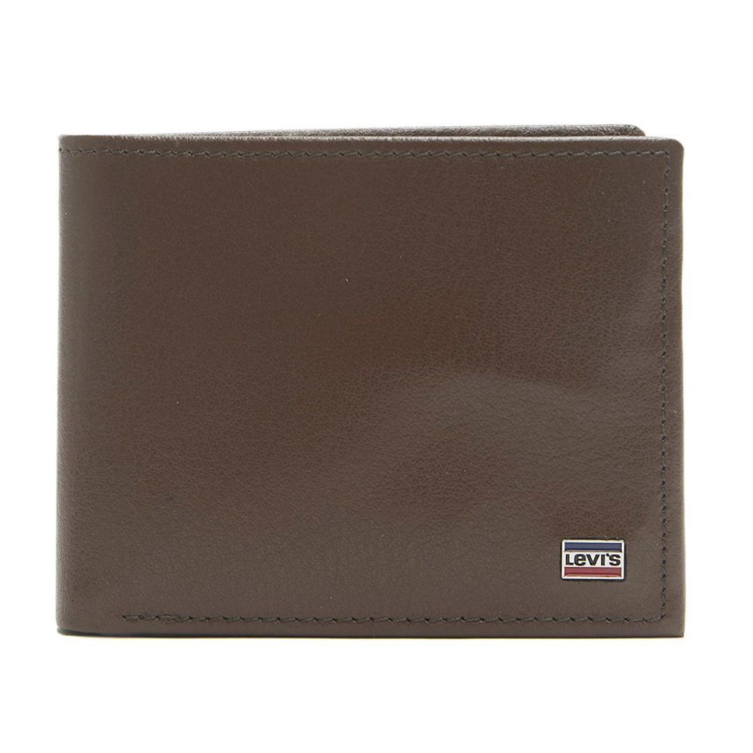 Levi's Traveler Coin Wallet 防RFID 男裝真皮銀包 附送禮盒 全新現貨正品