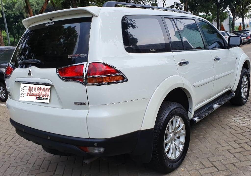 Mitsubishi Pajero Sport Exceed AT Diesel 2012 Putih, Dp 57,9 Jt, No Pol Ganjil