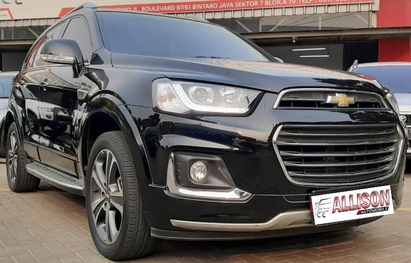 New Chevrolet Captiva Diesel Facelift 2.0 AT 2017 Dp 85,9 Jt No Pol Genap