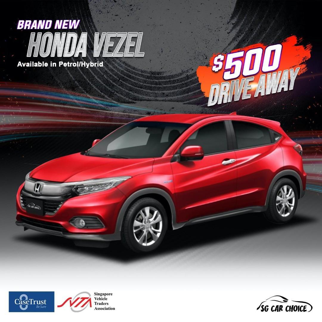 New Honda Vezel for Rent
