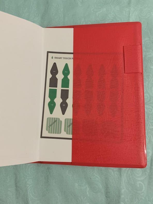 Notebook and planner