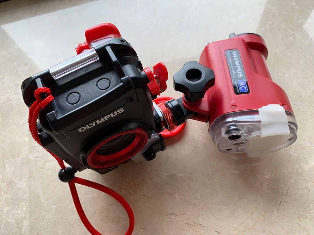 Olympus TG4 full set underwater camera with waterproof RC