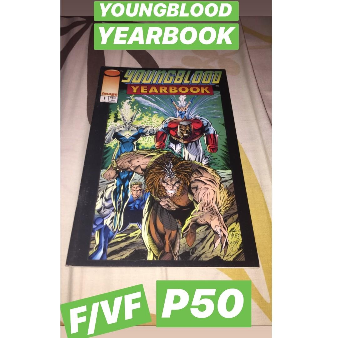 Phonogram: The Immaterial Girl #1, Youngblood Yearbook (Image), Imperial (Image), Amalgam Comics: Iron Lantern and  JLX