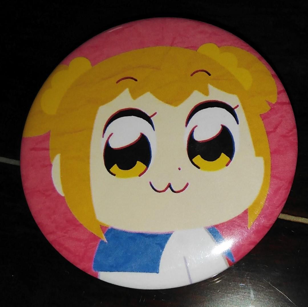 Pop Team Epic / JoJo's Bizarre Adventure Anime Badge