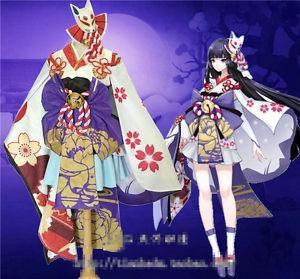 RENT/SALE Onmyoji Yuki Onna Kimono Cosplay Costume