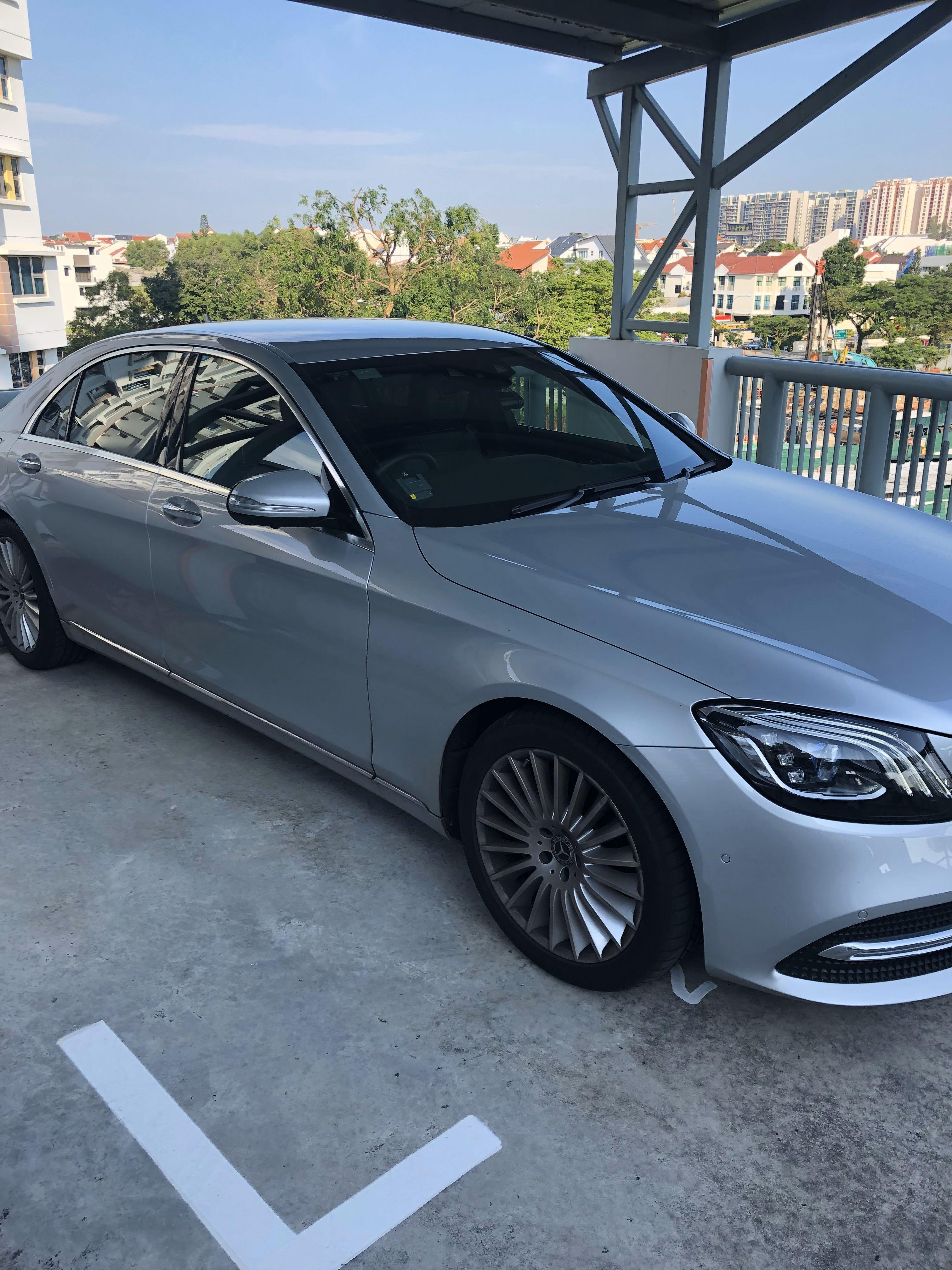 Mercedes Benz S320 (W222) Wedding Car Rental Latest Facelift. Only 1 in market.