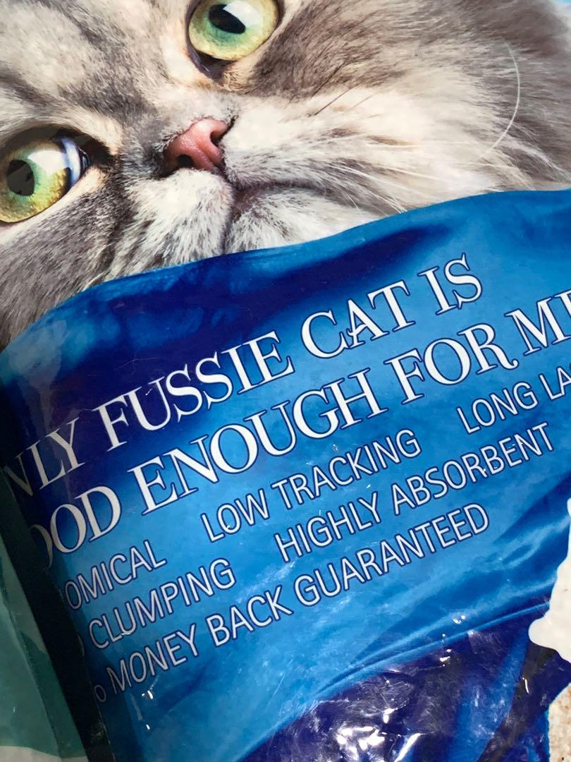 Selling Cheap! FUSSIE CAT LITTER (10Litre) minimum purchase - 3bags