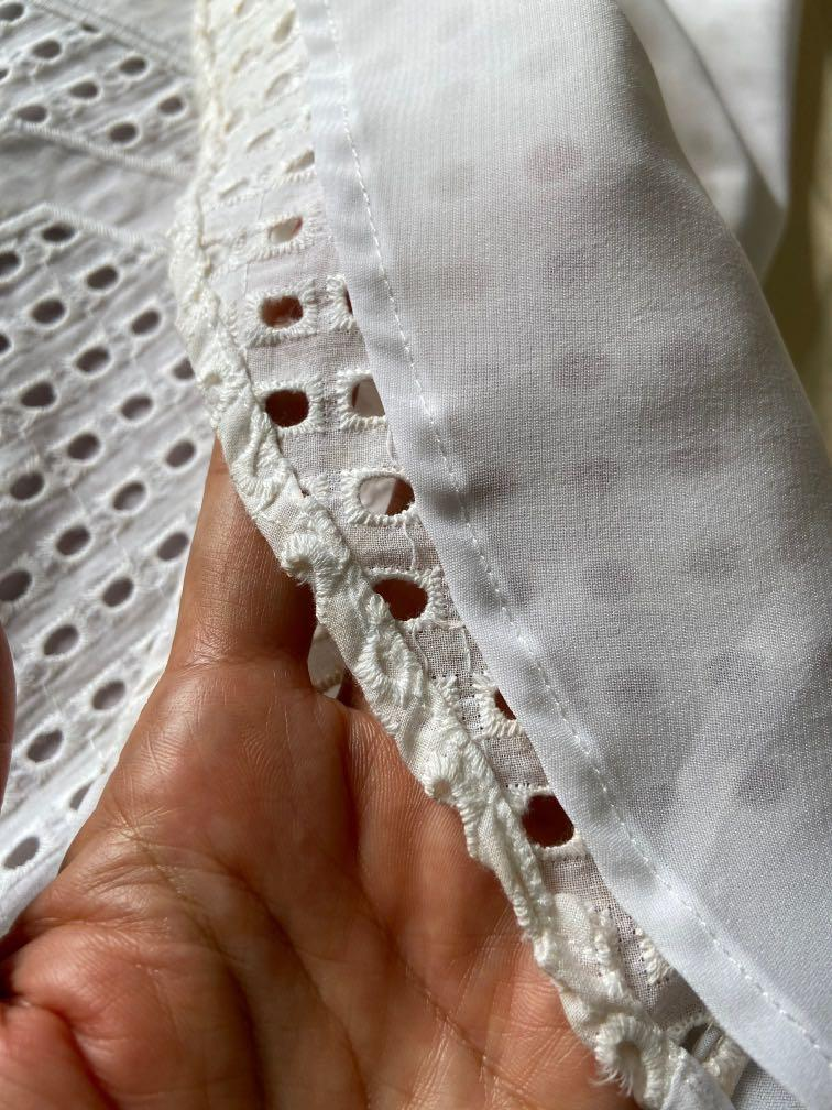 全新SO MICE專櫃白色個性洋裝