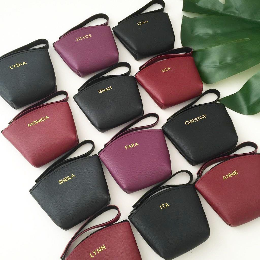 Stylish coin pouches