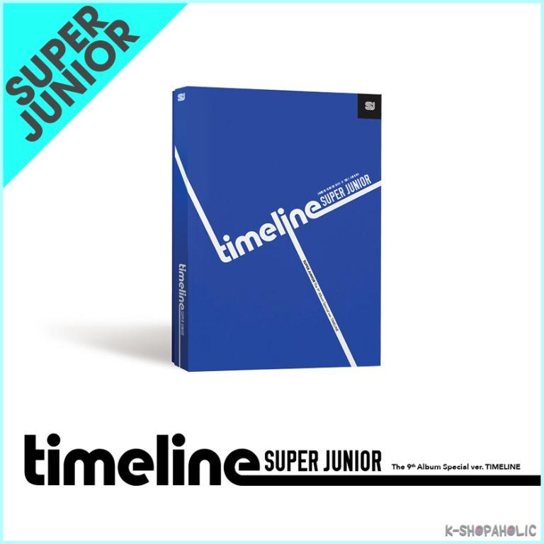 SUPER JUNIOR - 9th Album Special Version ' TIMELINE '