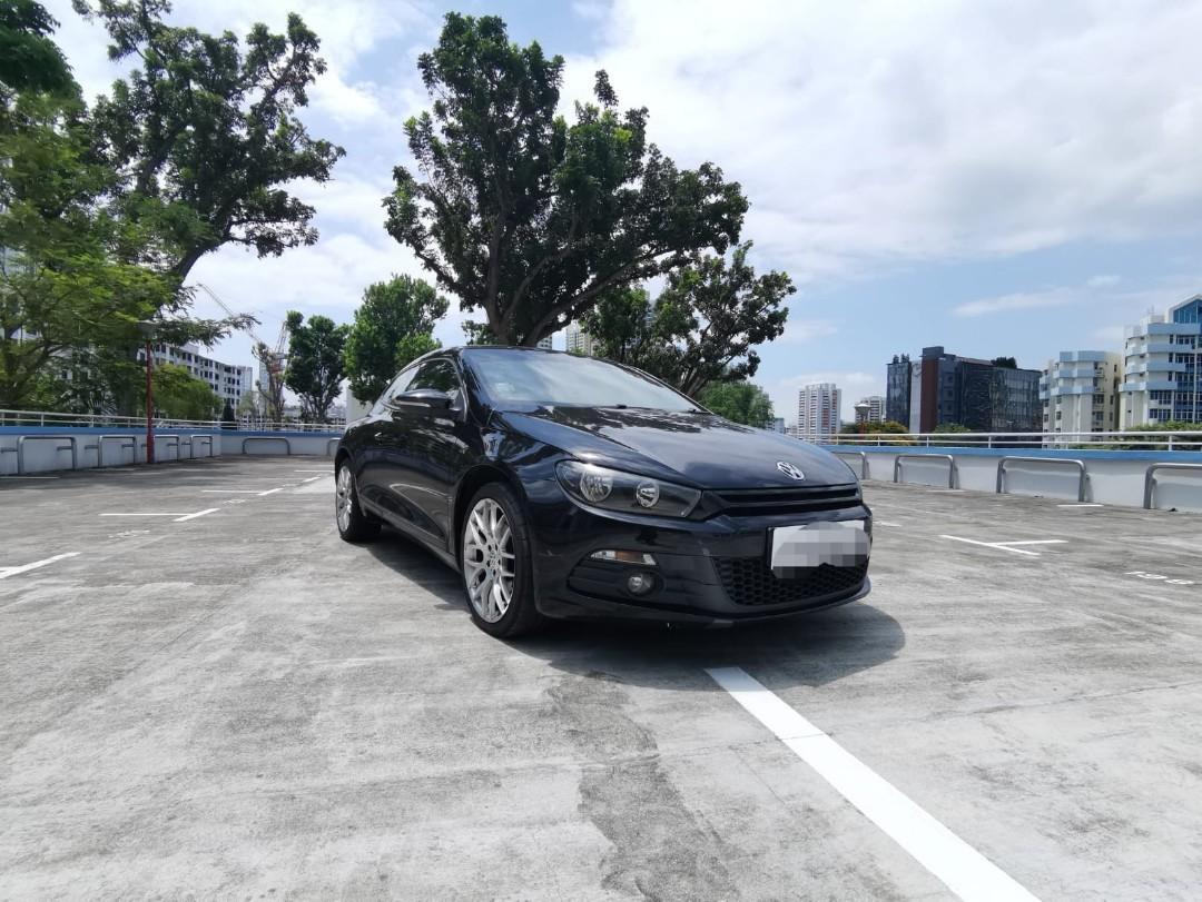 Volkwagen scirocco 1.4A for rental/long term leasing