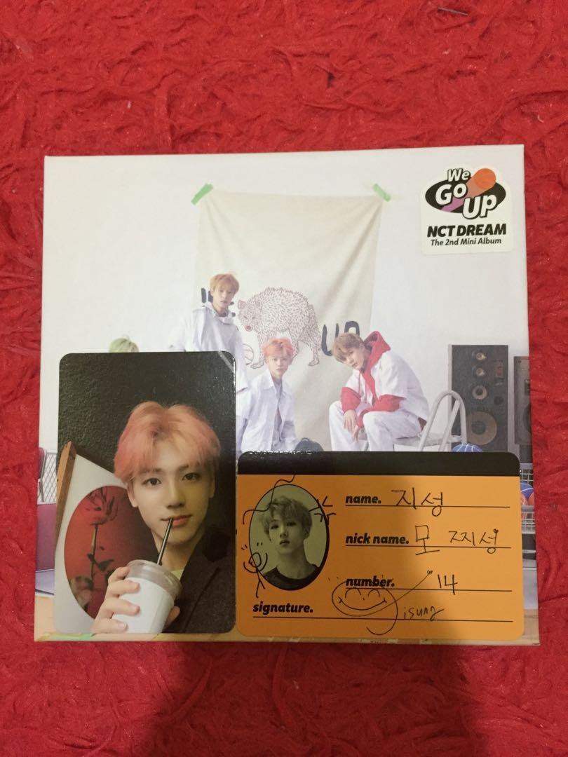 [WTS] WE GO UP NCT DREAM (price can go down to RM62)