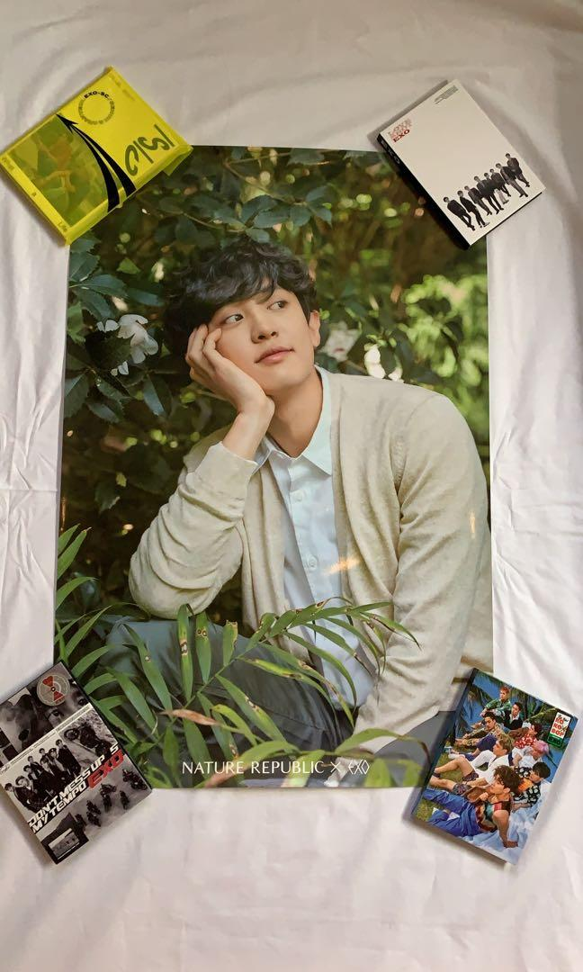 [WTS] [SG/MSIA ONLY]  EXO X Nature Republic Official chanyeol poster