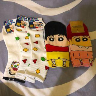 韓國蠟筆小新襪子(全新)