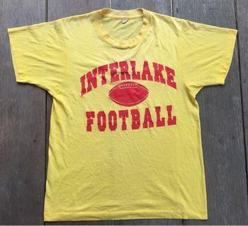 Vintage Winterlake Football 80s T-shirt
