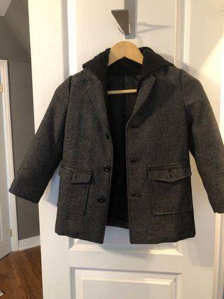 Kids winter wool jacket size 5/6