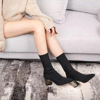 二手 超美女神百搭襪靴 靴子 boots