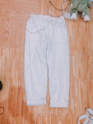 高質感挺版寬褲