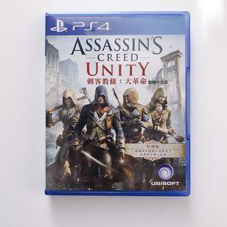 平常小姐┋2手┋PlayStation【PS4遊戲】《刺客教條:大革命》繁體中文特別版 Assassin's Creed