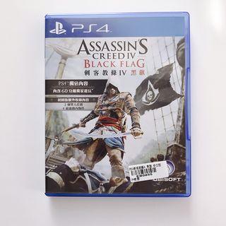 平常小姐┋2手┋PlayStation【PS4遊戲】《刺客教條4:黑旗》中文版 Assassin's Creed 4