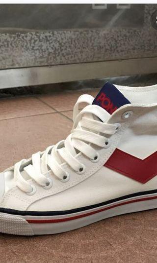 PONY帆布鞋
