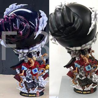 One piece monyet.d.luffy gear 3 action figure
