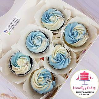 frosted cupcakes