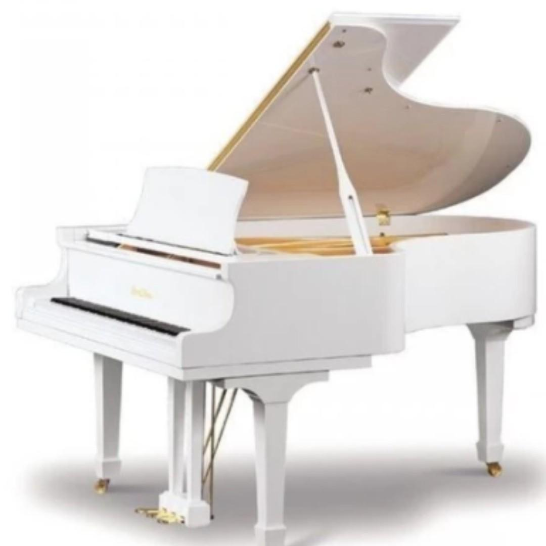 (Brand New) PEARL RIVER GP148 White Grand Piano - World's Best-Selling Piano