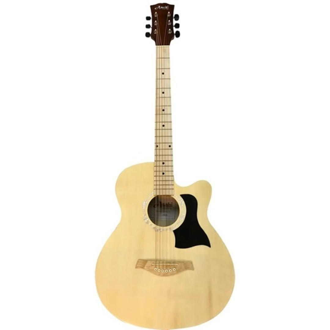 "11.11 CRISTOFORI LARGEST MUSIC WAREHOUSE SALES !!! Japan Designed Asahi AS40C Acoustic Guitar (40""inch)"