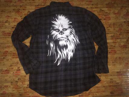 Star wars x uniqlo flannel shirt