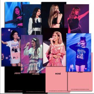 Blackpink 2018 Tour [In Your Area] Seoul Photocard set