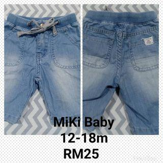 Miki baby short Jeans