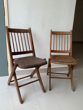 Antique Thornet Mundus chairs