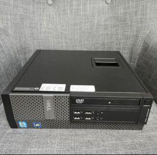 #正版Win7# intel  i5 CPU Dell 商務電腦 桌機 PC 小電腦