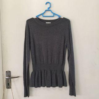 Dark Grey Knitwear