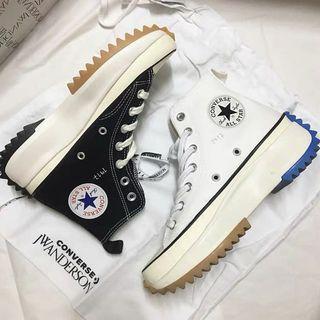 Converse 匡威 JW Anderson Run Star 黑白藍綠聯名增高鞋164840C