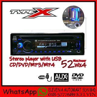 Single Din Dvd,Vcd,Usb,Mp3 Player