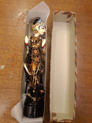 Balinese Traditional Costume Puppet  15 inch New in Box
