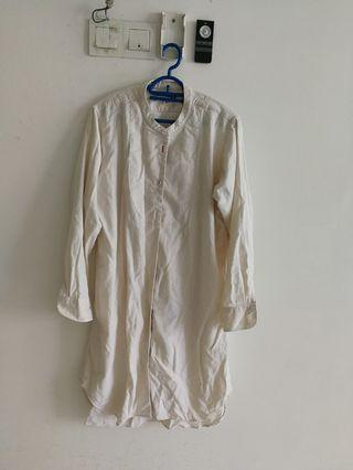 Uniqlo women long blouse