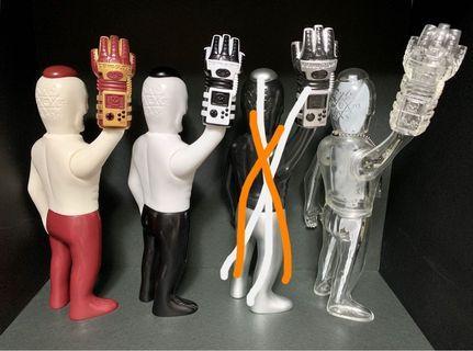 Skulltoys GUY-2 骷髏人 骨骸 頭蓋玩具 三支合售  非PDS