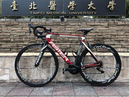 1000 NTD open price Auction: Aster road bike full carbon full set Ultegra bicycle