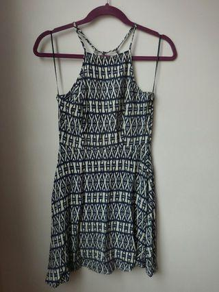 H&M Divided Blue and White Dress #PayDay80